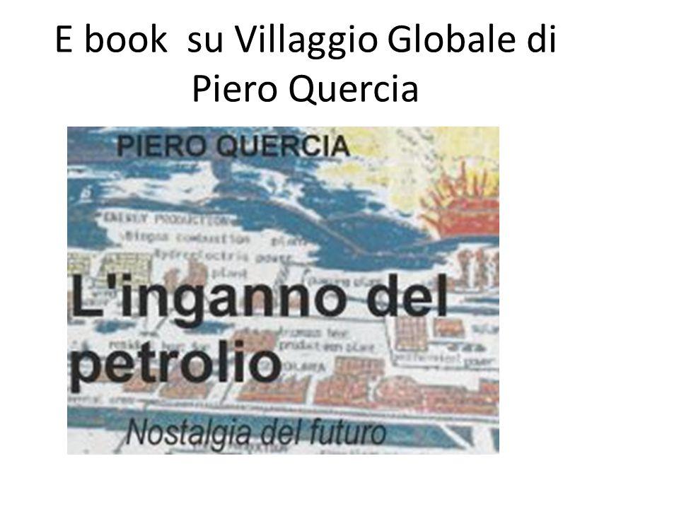 E book su Villaggio Globale di Piero Quercia