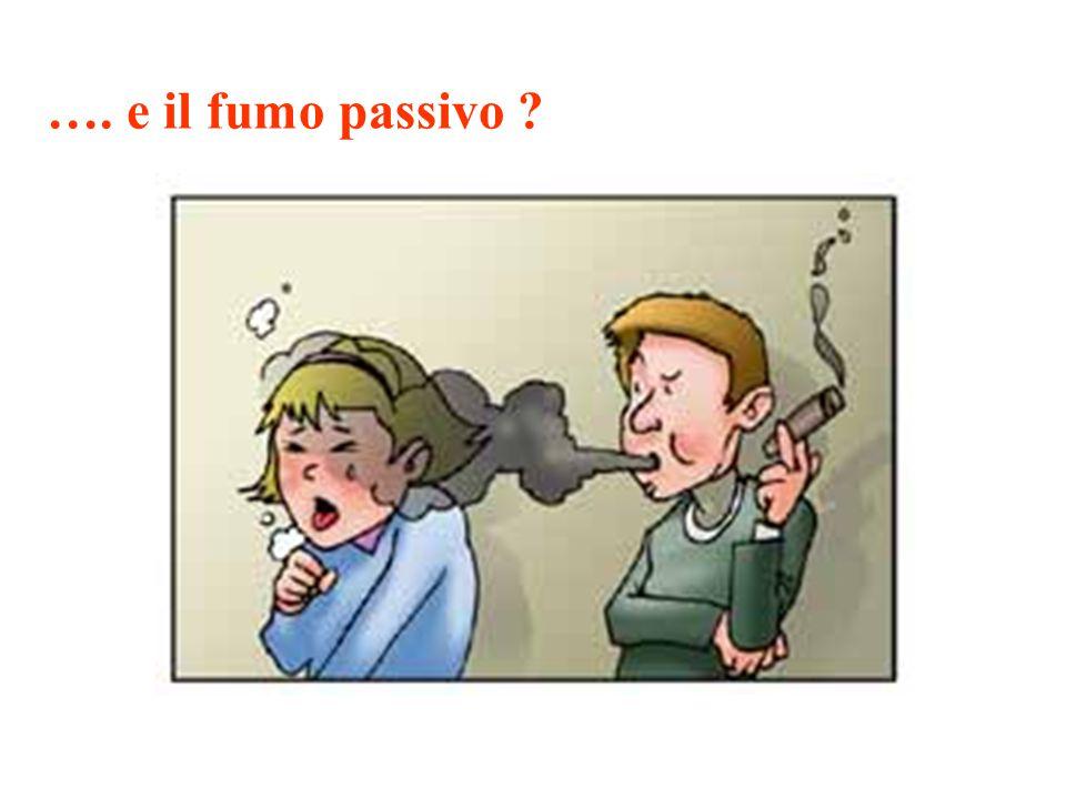 …. e il fumo passivo ?