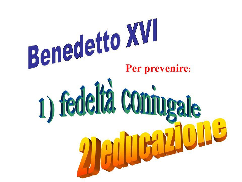 (fonte Enzo Biagi, Quello che nn si doveva dire) Cardinale MArtini.: Bisogna fare di tutto per contrastare l'AIDS.