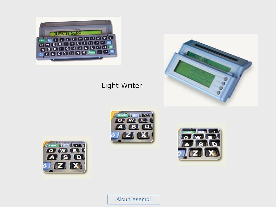 Light Writer Alcuni esempi