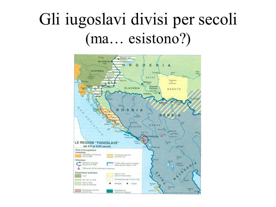 Gli iugoslavi divisi per secoli (ma… esistono?)