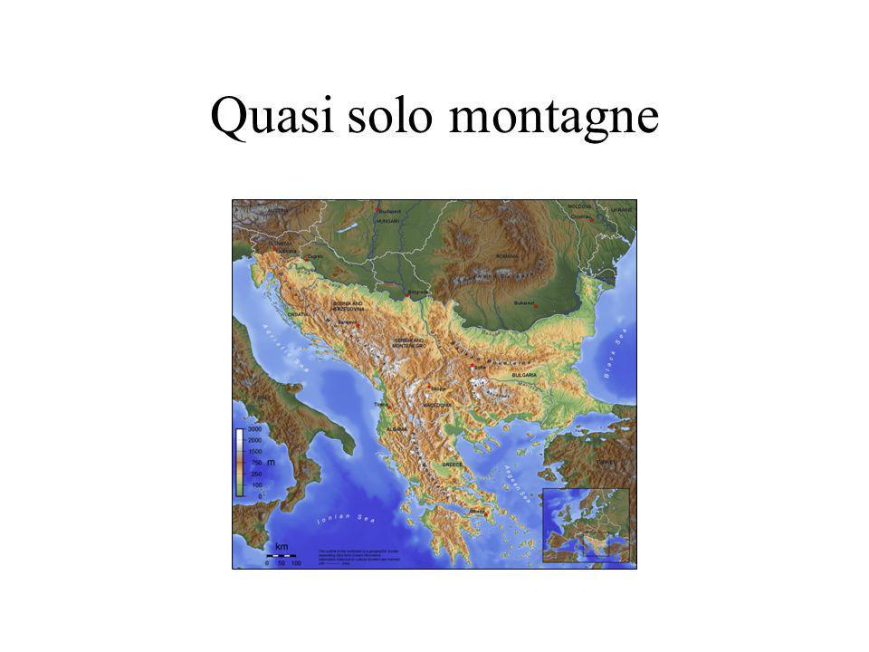 Quasi solo montagne