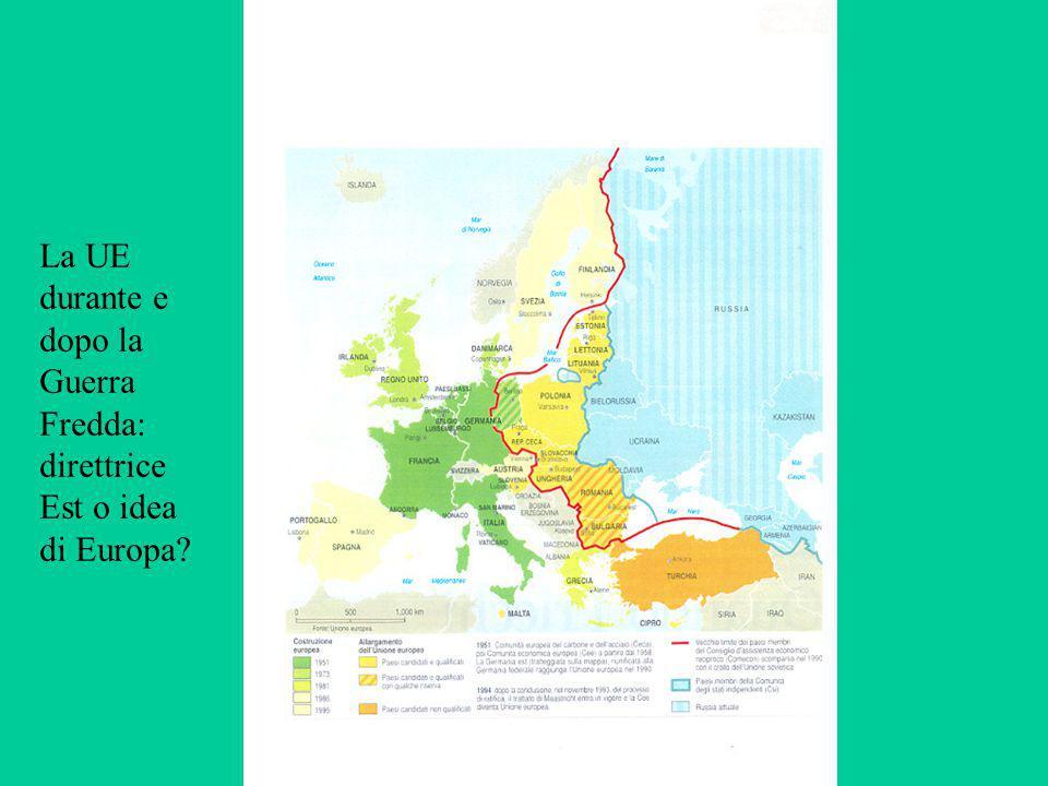 La UE durante e dopo la Guerra Fredda: direttrice Est o idea di Europa?
