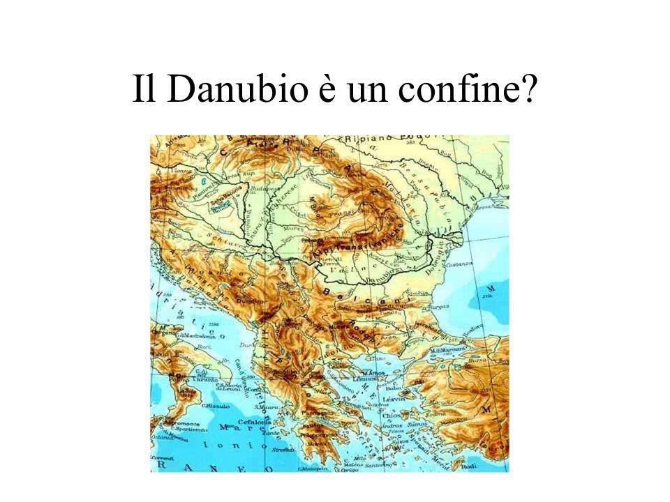 Il Danubio è un confine?