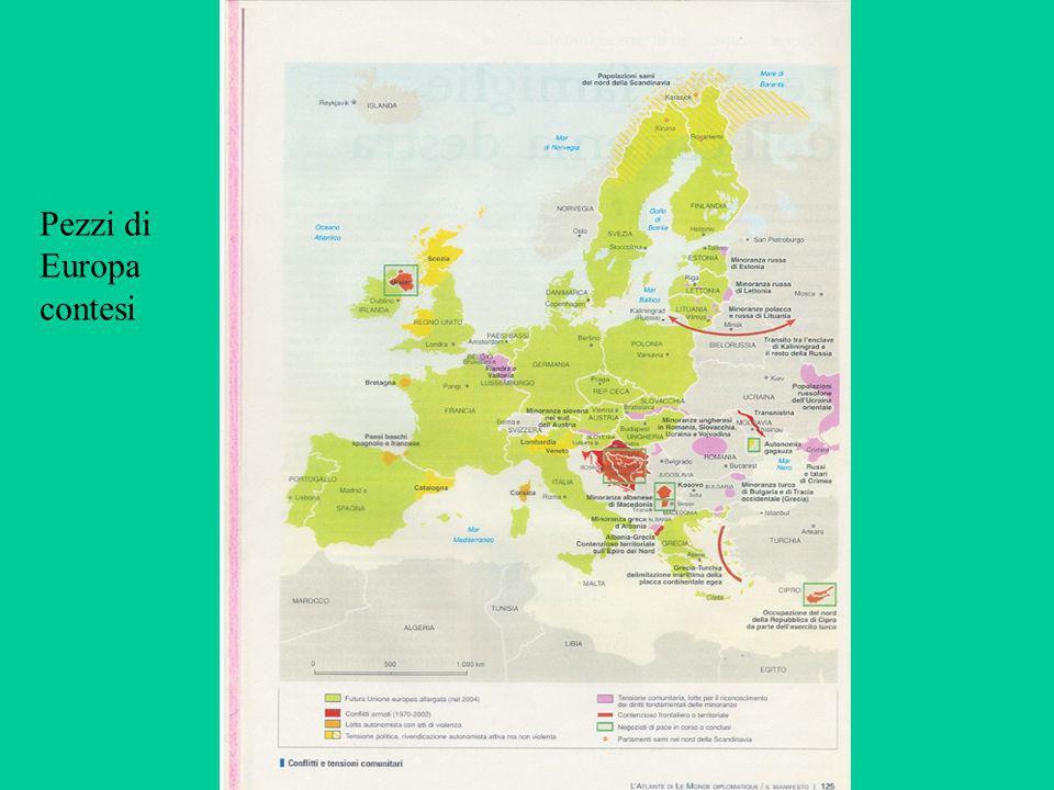 Pezzi di Europa contesi