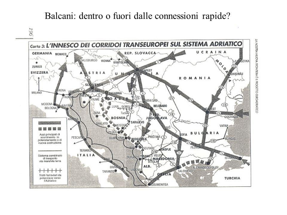 Balcani: dentro o fuori dalle connessioni rapide?
