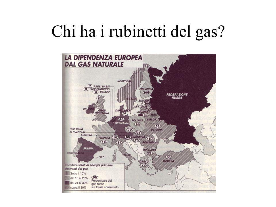 Chi ha i rubinetti del gas?
