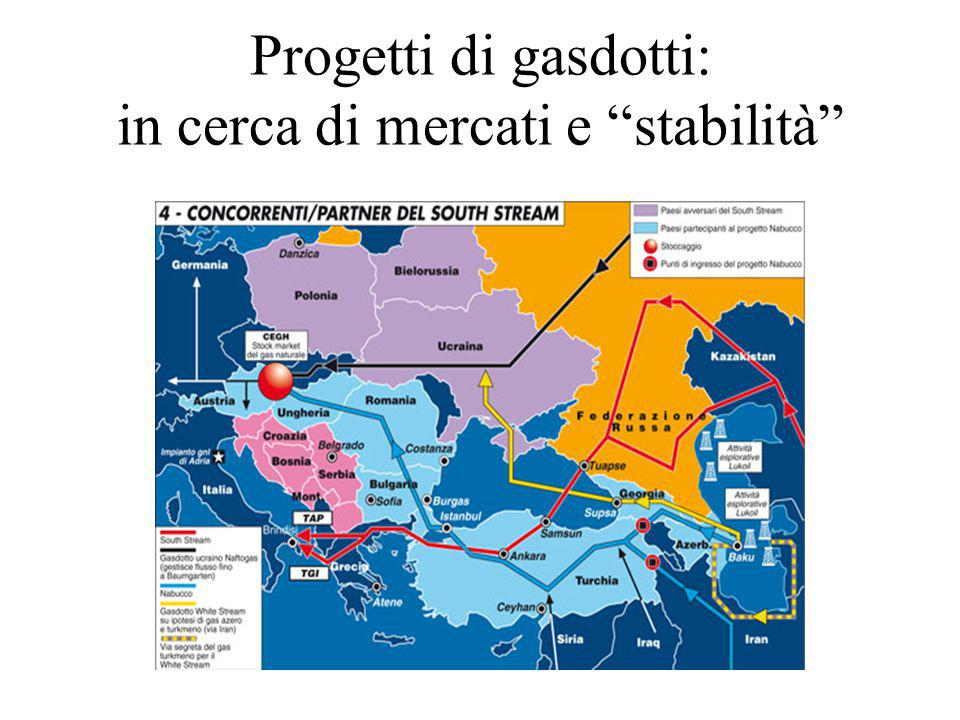 """Progetti di gasdotti: in cerca di mercati e """"stabilità"""""""