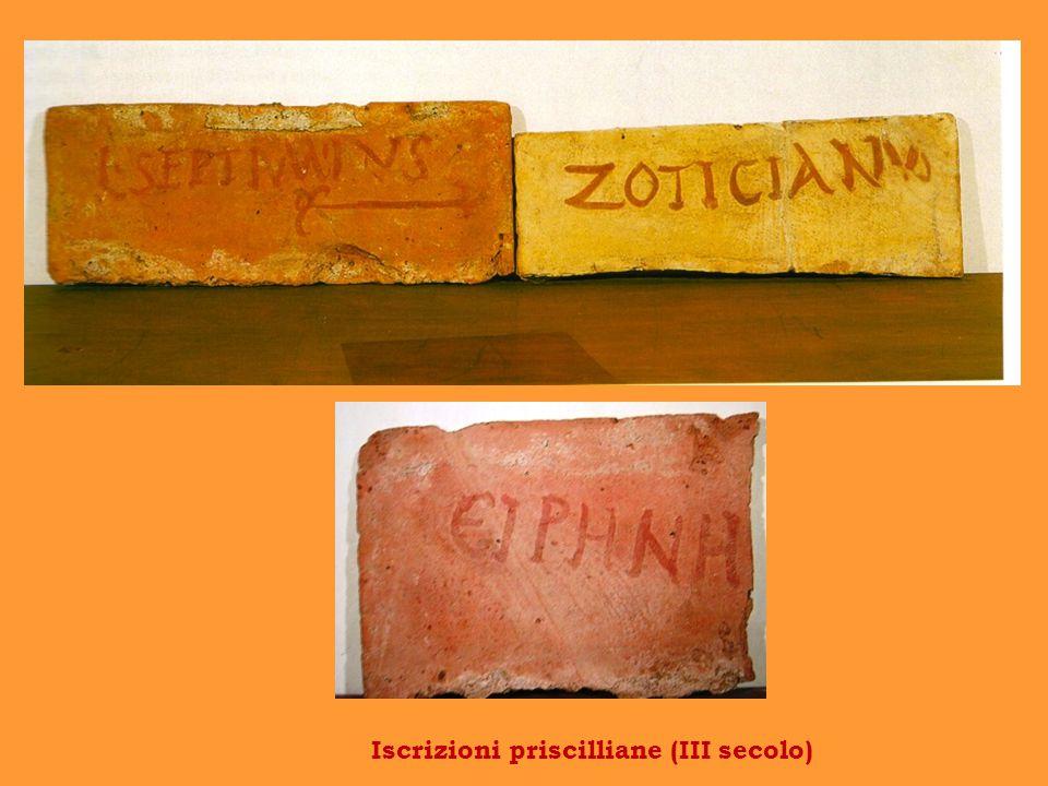 Iscrizioni priscilliane (III secolo)