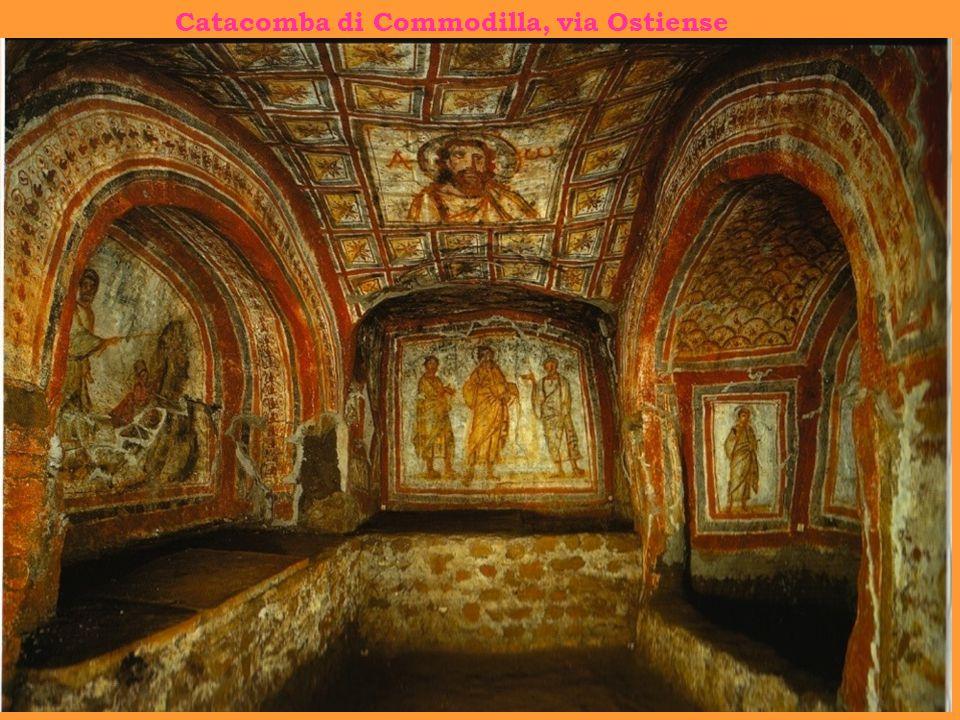 Catacomba di Commodilla, via Ostiense