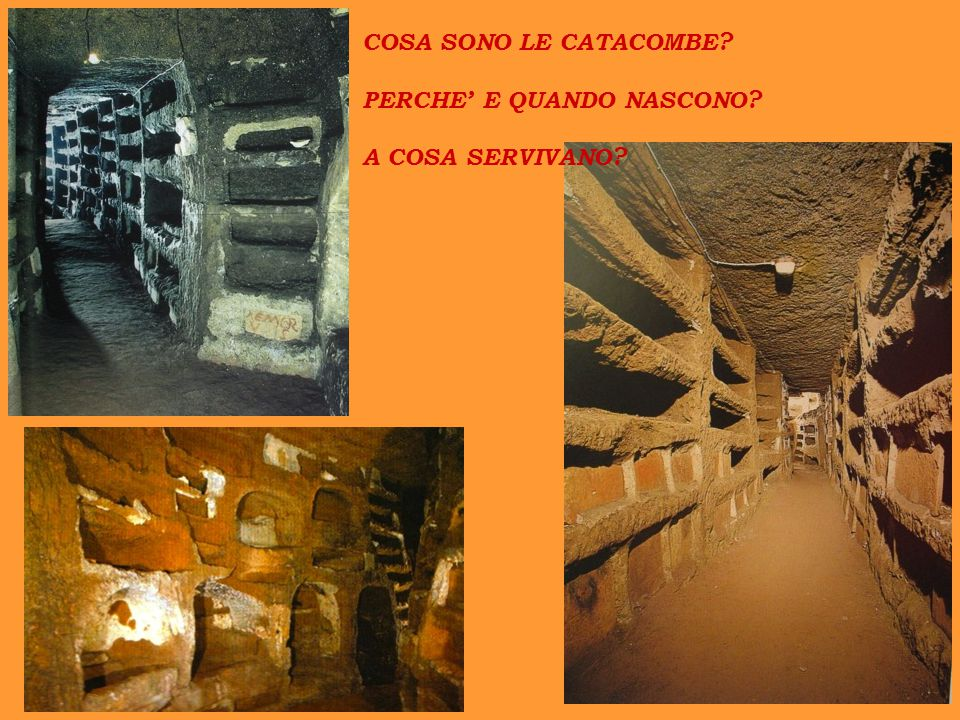 Catacomba di Commodilla VI secolo