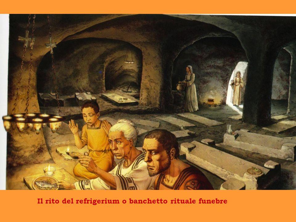 Il rito del refrigerium o banchetto rituale funebre