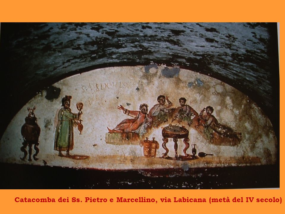 Catacomba dei Ss. Pietro e Marcellino, via Labicana (metà del IV secolo)