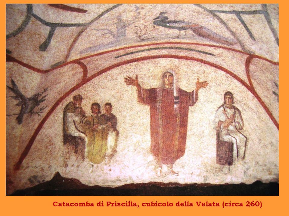 Catacomba di Priscilla, cubicolo della Velata (circa 260)
