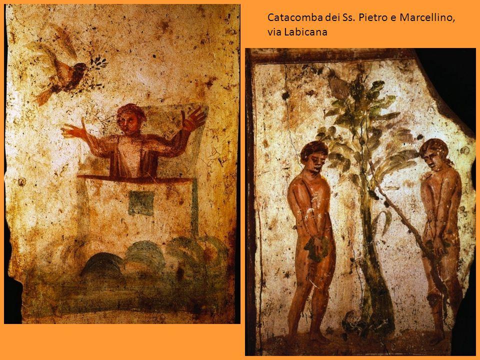 Catacomba dei Ss. Pietro e Marcellino, via Labicana