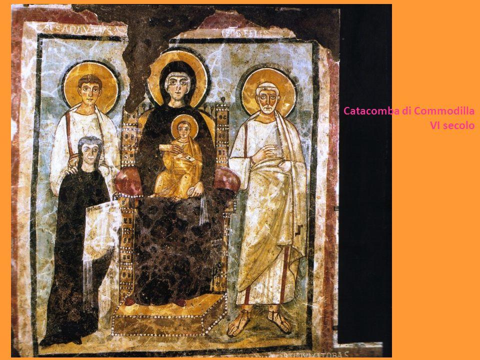 Catacomba di Commodilla VI secolo