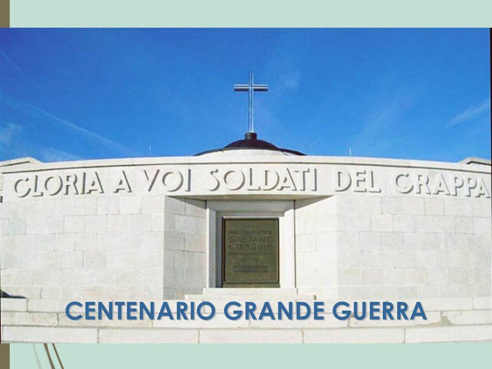 CENTENARIO GRANDE GUERRA