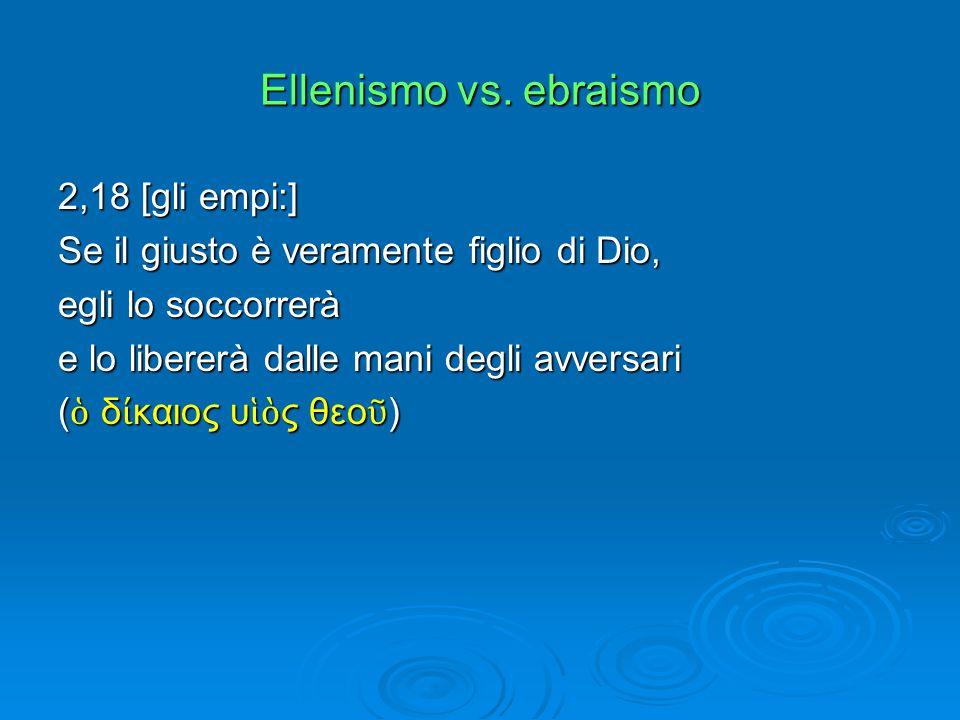 Ellenismo vs.