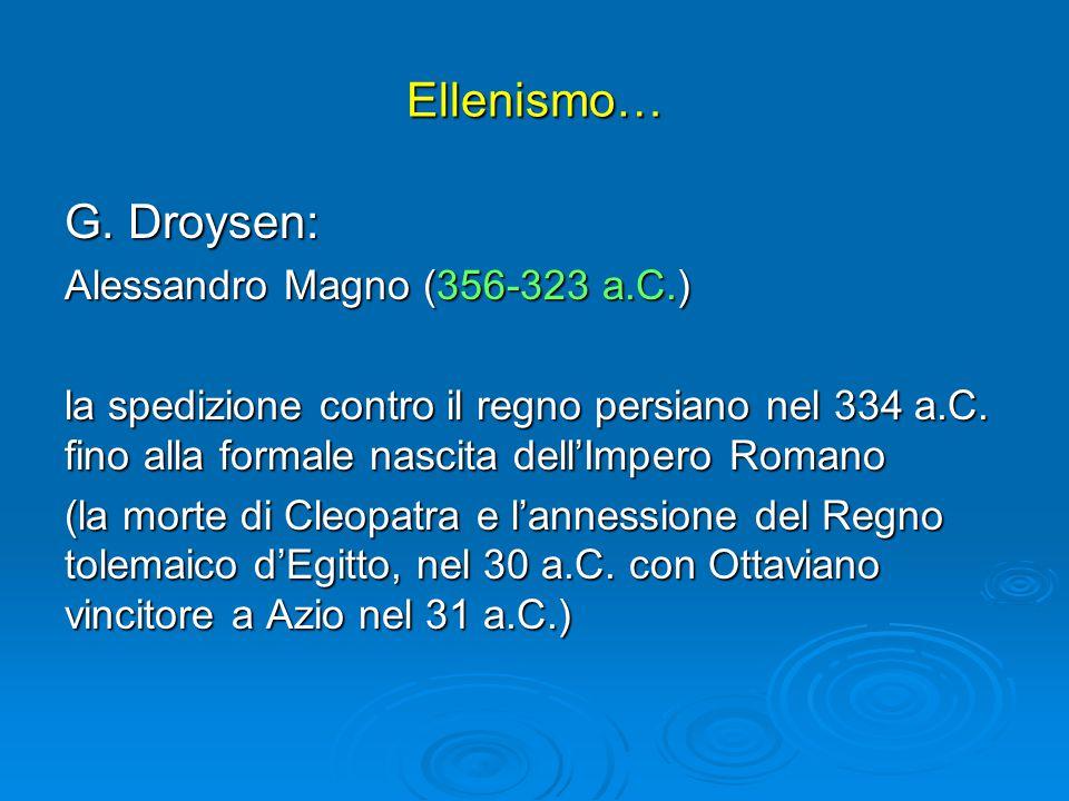 Ellenismo… G.
