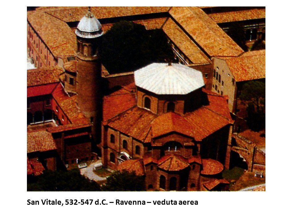 San Vitale, 532-547 d.C. – Ravenna – veduta aerea