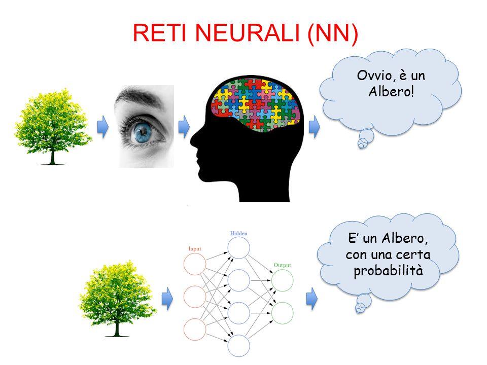 RETI NEURALI (NN) E' un Albero, con una certa probabilità Ovvio, è un Albero!