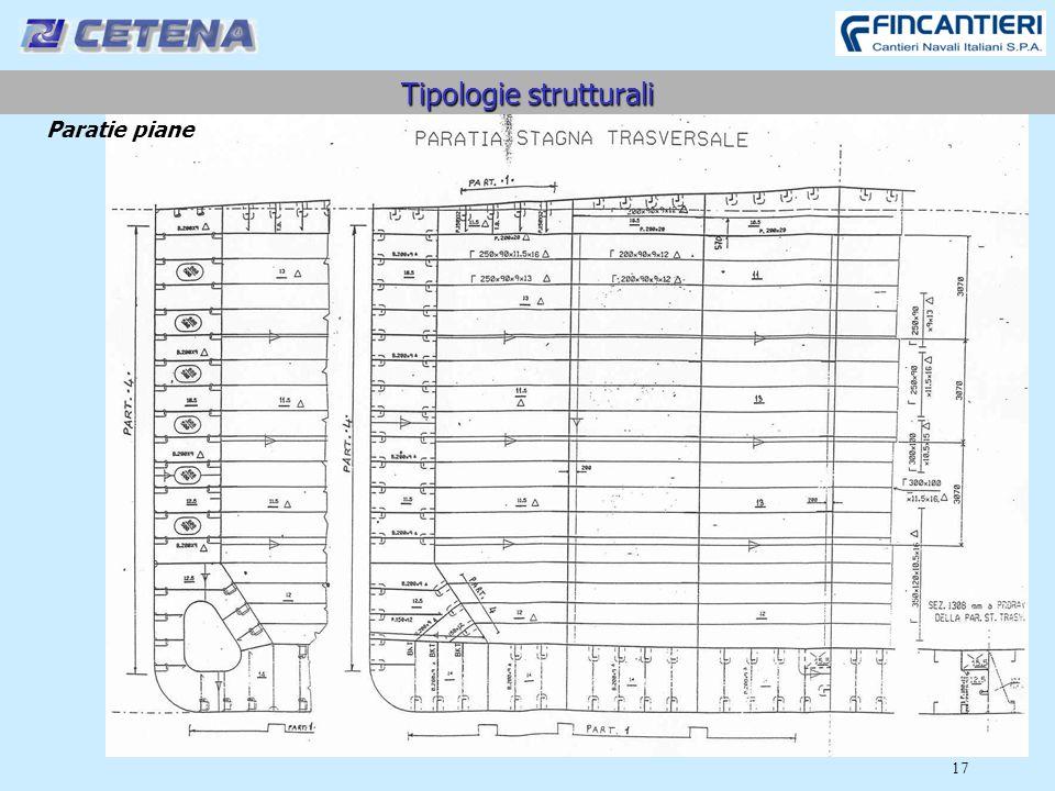17 Tipologie strutturali Paratie piane