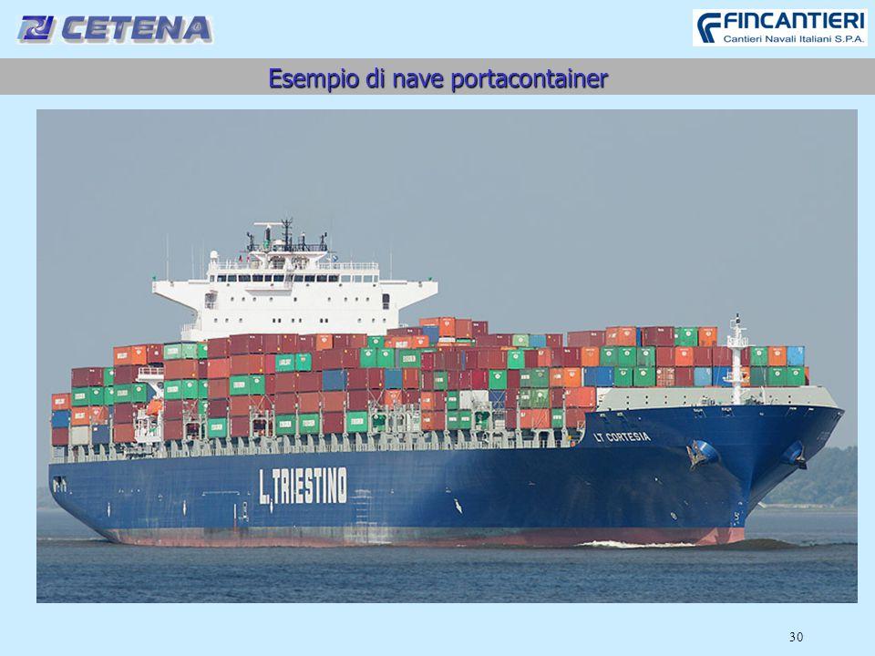 Esempio di nave portacontainer 30