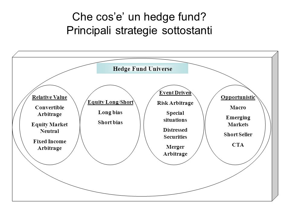 24 Che cos'e' un hedge fund.