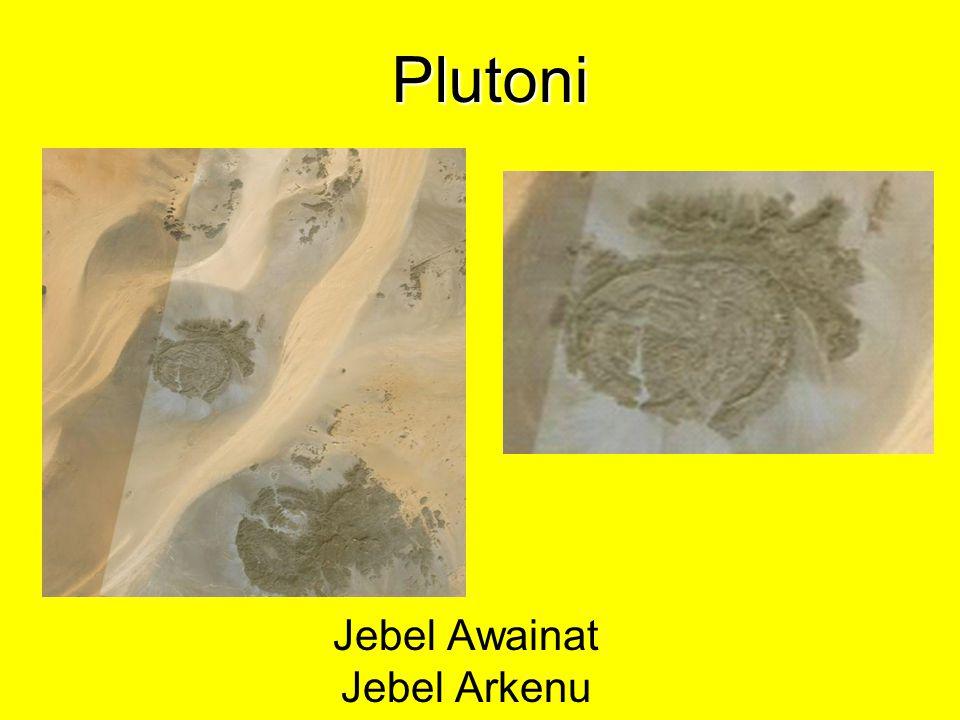 Jebel Awainat Jebel Arkenu Plutoni