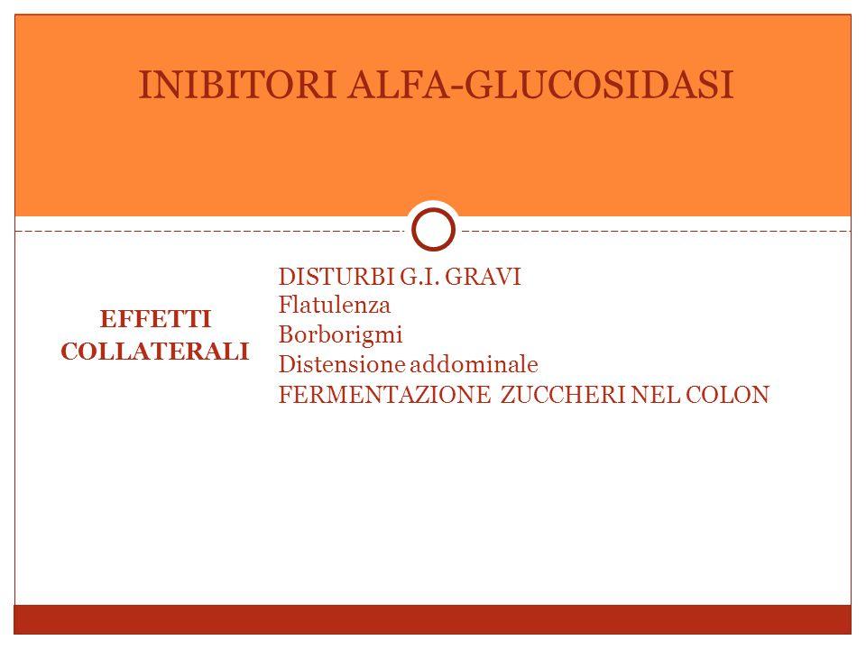 EFFETTI COLLATERALI DISTURBI G.I.