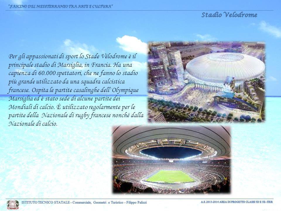 Per gli appassionati di sport lo Stade Vélodrome è il principale stadio di Marsiglia, in Francia.