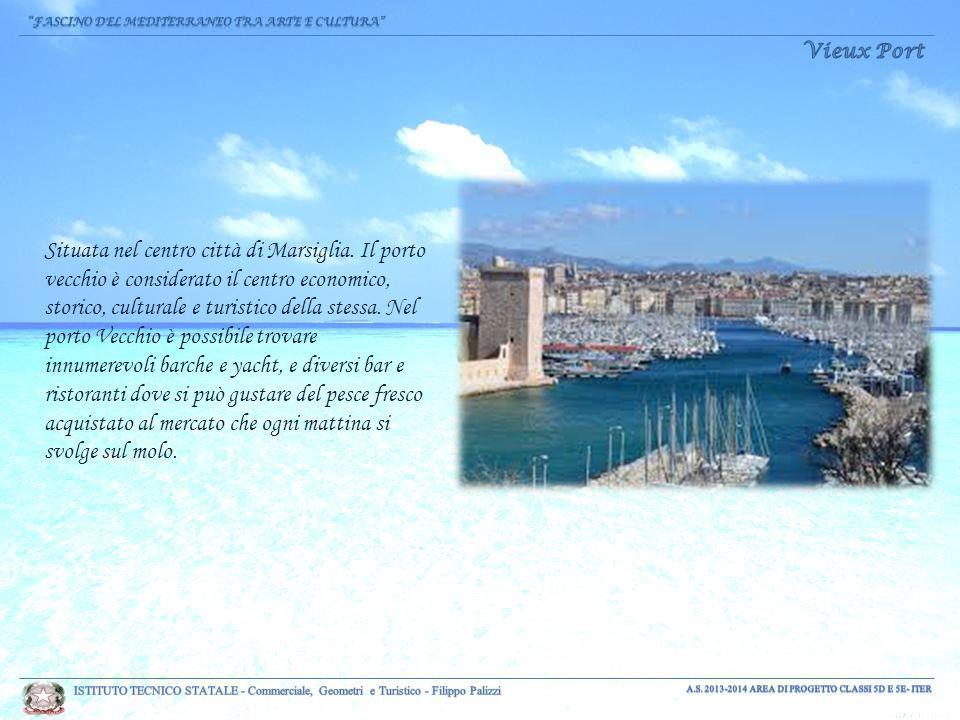 Situata nel centro città di Marsiglia.