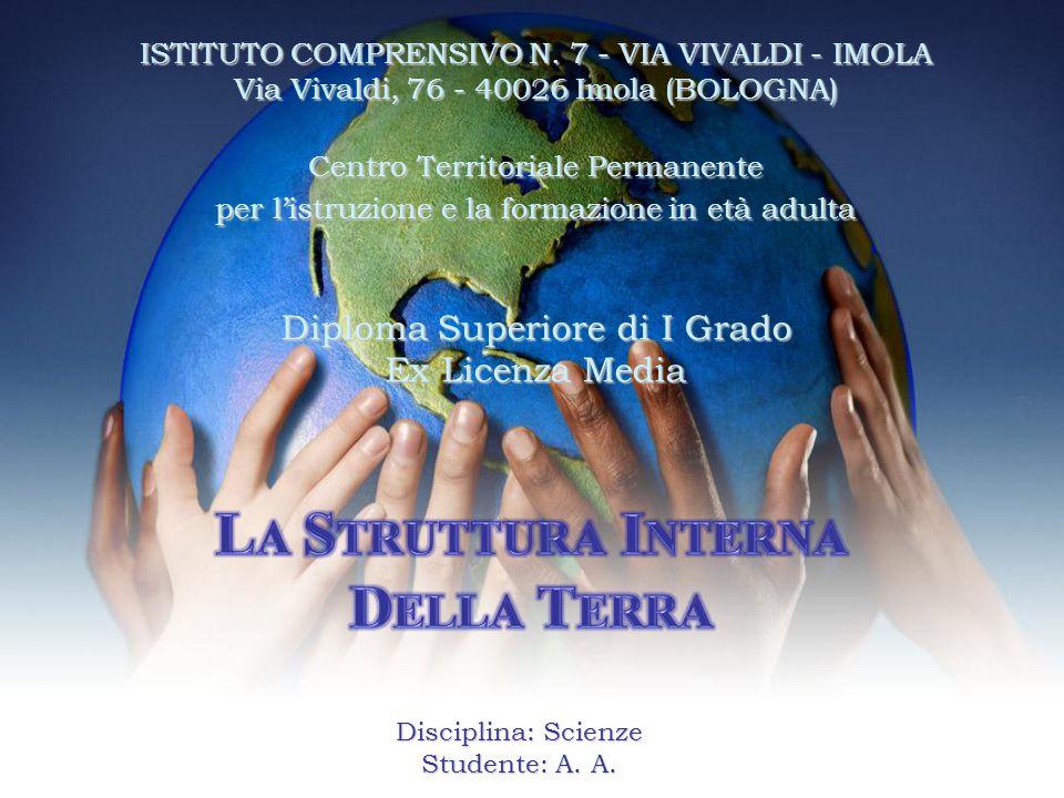 ISTITUTO COMPRENSIVO N. 7 - VIA VIVALDI - IMOLA Via Vivaldi, 76 - 40026 Imola (BOLOGNA) Centro Territoriale Permanente per l'istruzione e la formazion