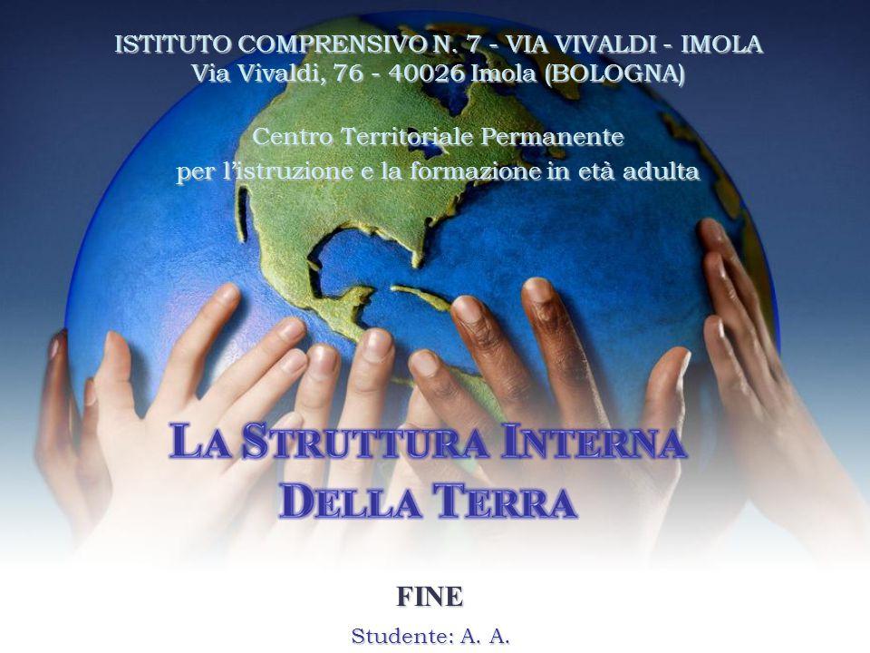 Studente: A. A. FINE ISTITUTO COMPRENSIVO N. 7 - VIA VIVALDI - IMOLA Via Vivaldi, 76 - 40026 Imola (BOLOGNA) Centro Territoriale Permanente per l'istr