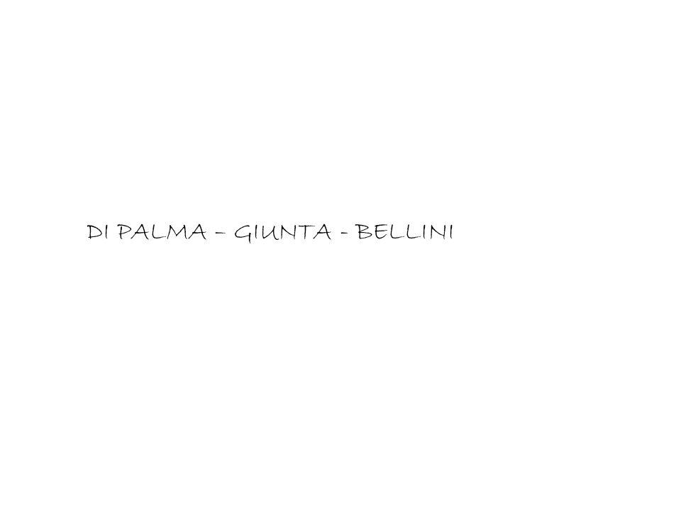DI PALMA – GIUNTA - BELLINI