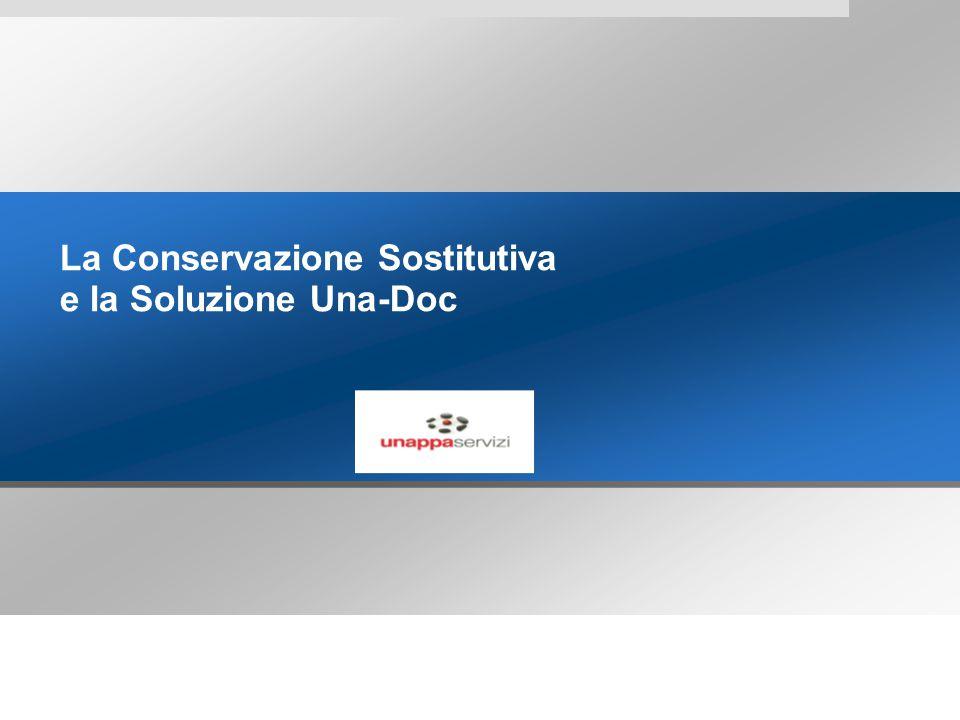 La Conservazione Sostitutiva e la Soluzione Una-Doc