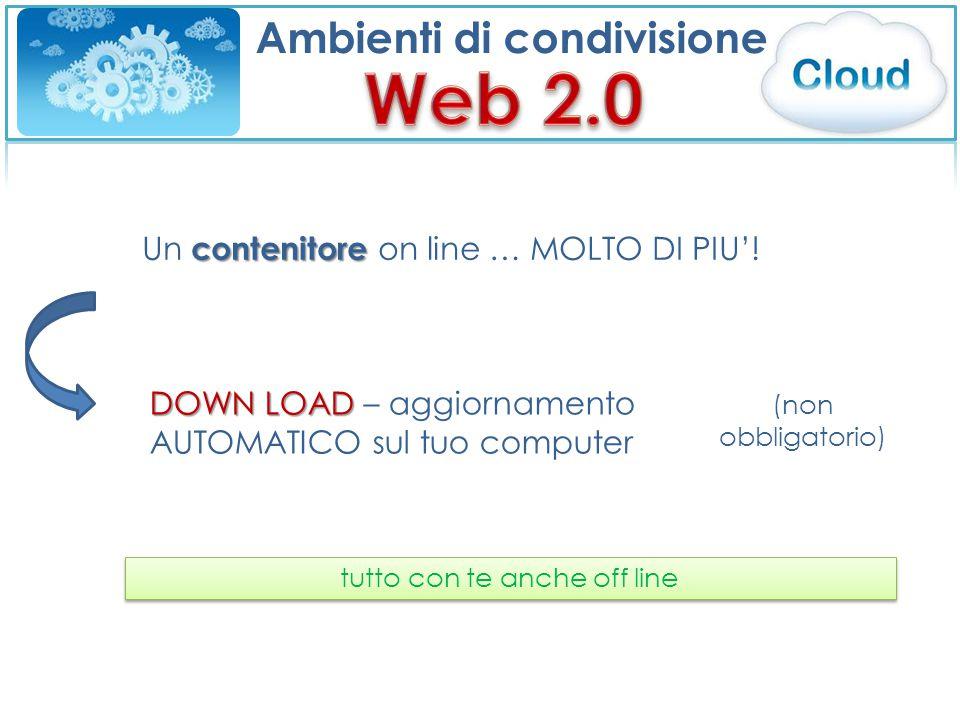 Ambienti di condivisione contenitore Un contenitore on line … MOLTO DI PIU'.