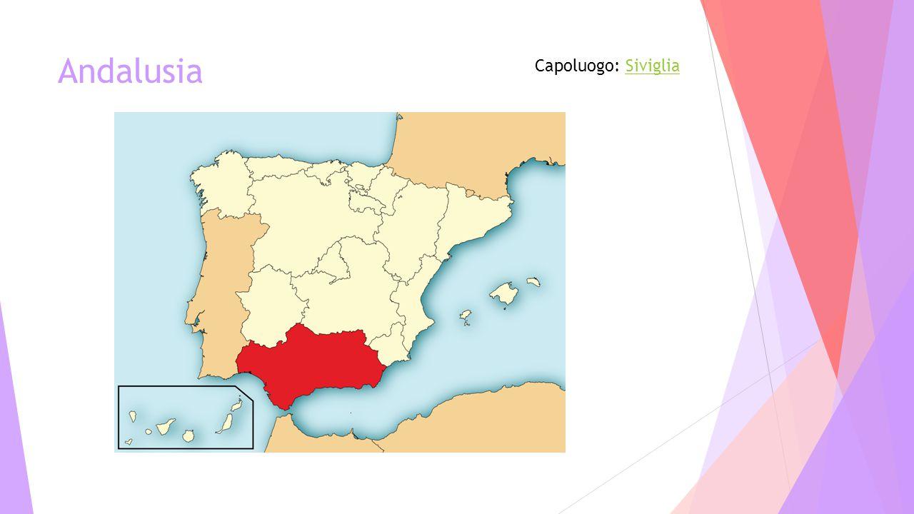 Andalusia Capoluogo: SivigliaSiviglia
