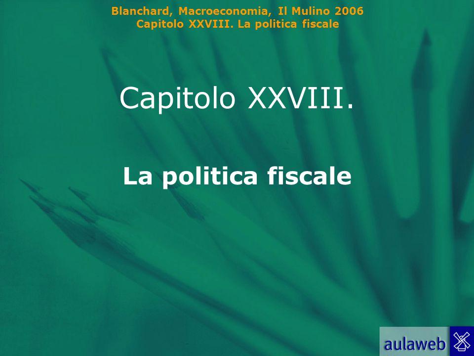 Blanchard, Macroeconomia, Il Mulino 2006 Capitolo XXVIII.