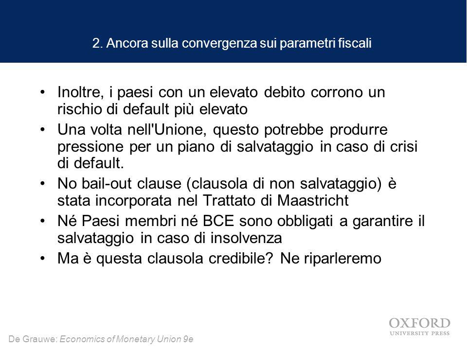 De Grauwe: Economics of Monetary Union 9e 2.