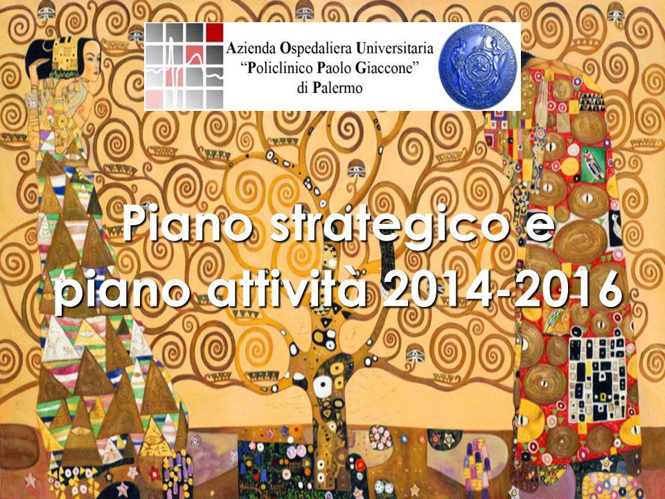 Piano strategico e piano attività 2014-2016