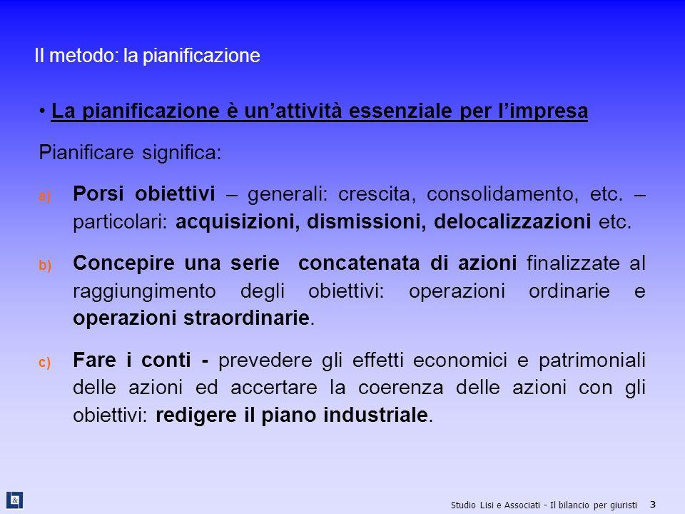 Studio Lisi e Associati - Il bilancio per giuristi 34 Io compro te: acquisizione dell'azienda La Bianchi S.r.l.