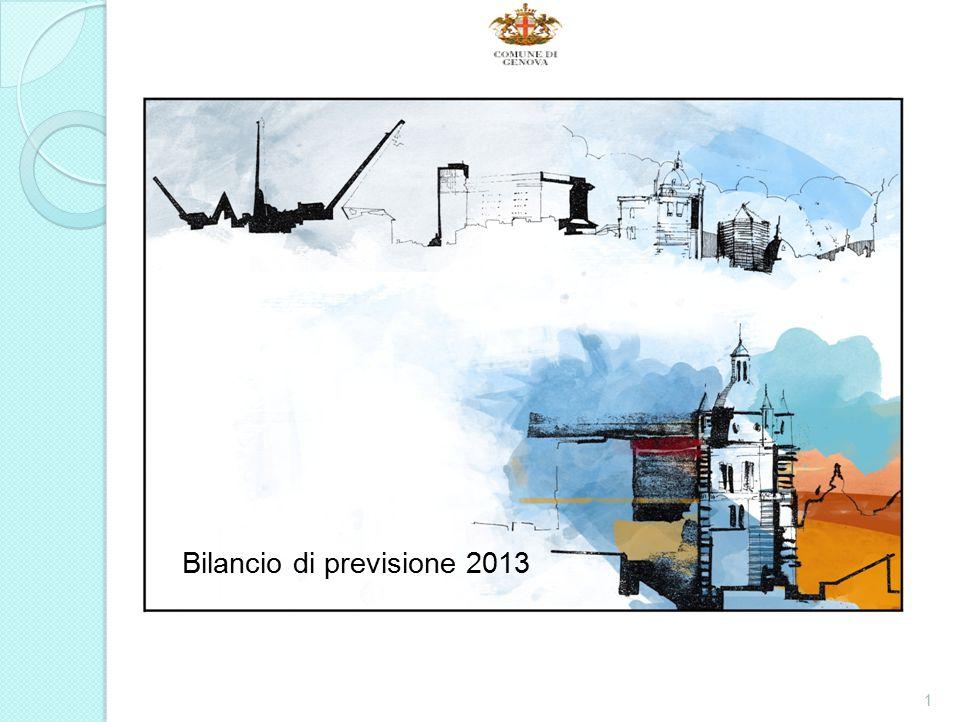 Bilancio di previsione 2013 1