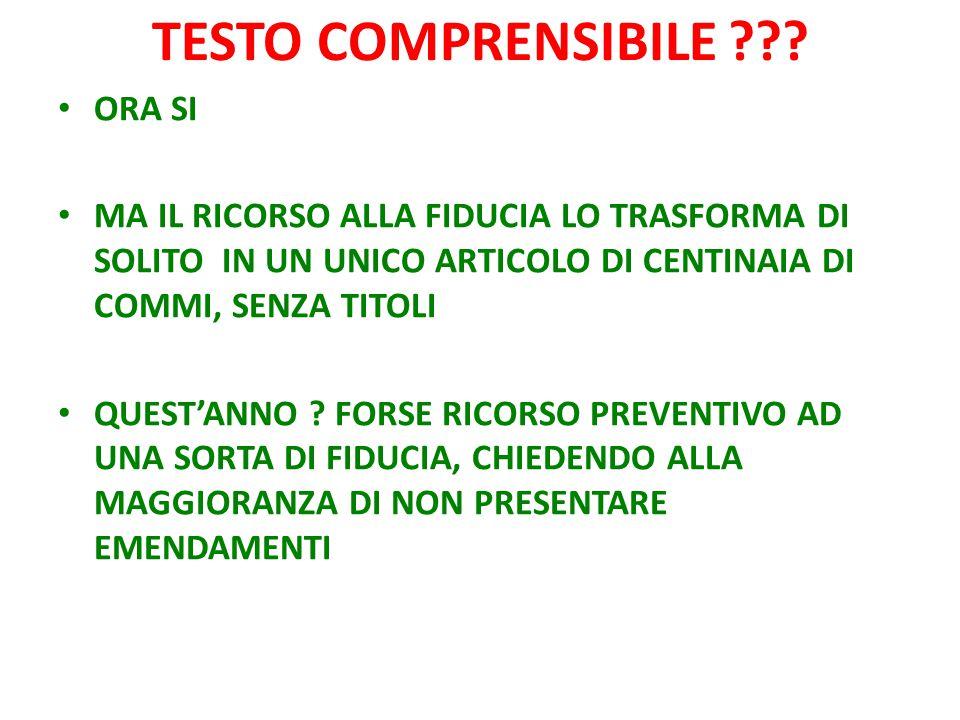 TESTO COMPRENSIBILE ??.