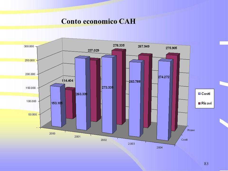 83 Conto economico CAH