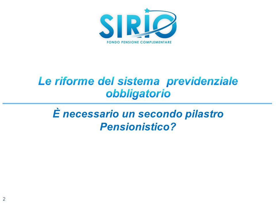 È necessario un secondo pilastro Pensionistico? 2