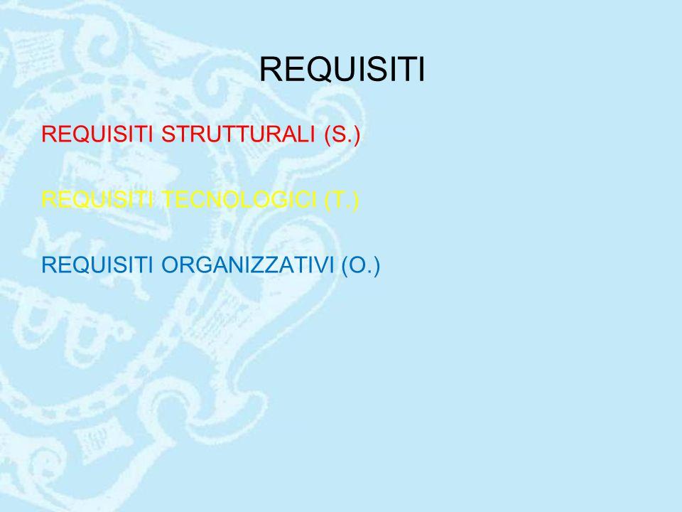 REQUISITI ORGANIZZATIVI REQUISITI CORRELATI ALLA VALIDAZIONE (O.65) Devono essere disponibili procedure scritte che regolamentano le attività di validazione degli emocomponenti allogenici, in applicazione di quanto definito dalla normativa vigente in particolare: -Collocazione delle unità da validare in appositi spazi -Piani per la convalida dei sistemi gestionali informatici che prevedano tra i requisiti da soddisfare funzioni di blocco operativo delle unità ancora da validare -validazione eseguita da dirigenti autorizzati
