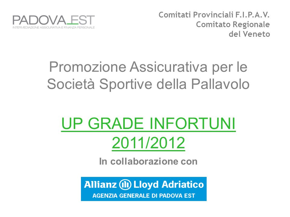Comitati Provinciali F.I.P.A.V.