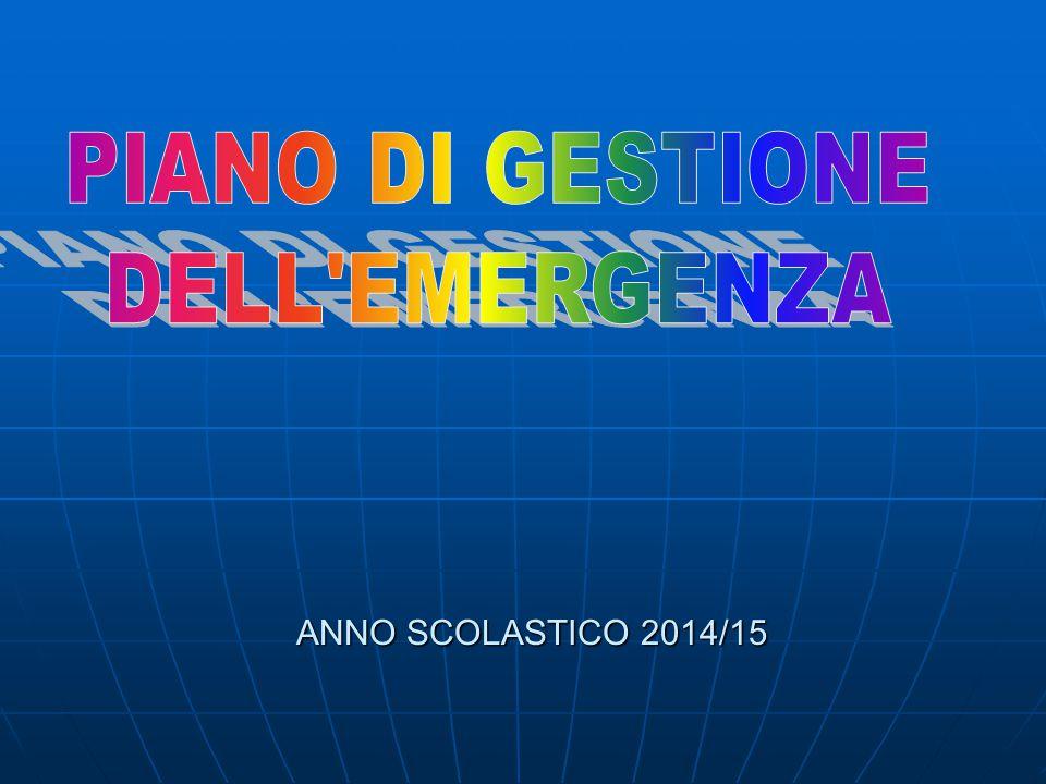 ANNO SCOLASTICO 2014/15