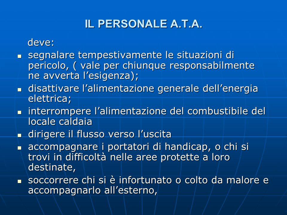 IL PERSONALE A.T.A.